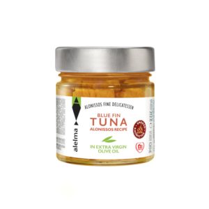 Blue fin smoked tuna Alonissos in extra virgin oil 120g