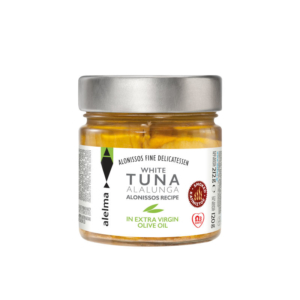 White smoked tuna Alalunga Alonissos in extra virgin olive oil 120g