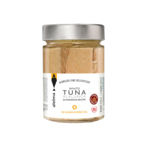 White smoked tuna Alalunga Alonissos in sunflower oil 200g